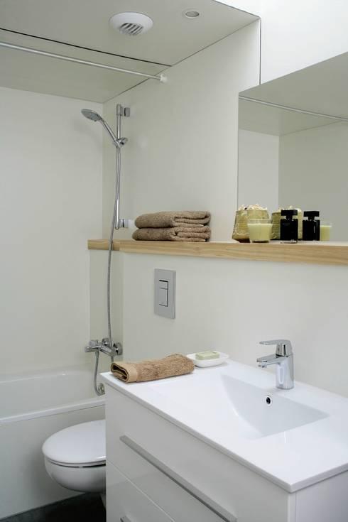 Ванные комнаты в . Автор – NOEM