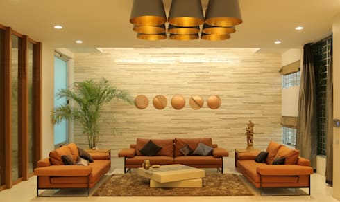 Lunar Eclipse : modern Living room by artitude