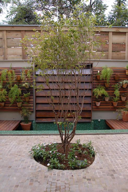 Jardines de estilo moderno por MONICA SPADA DURANTE ARQUITETURA