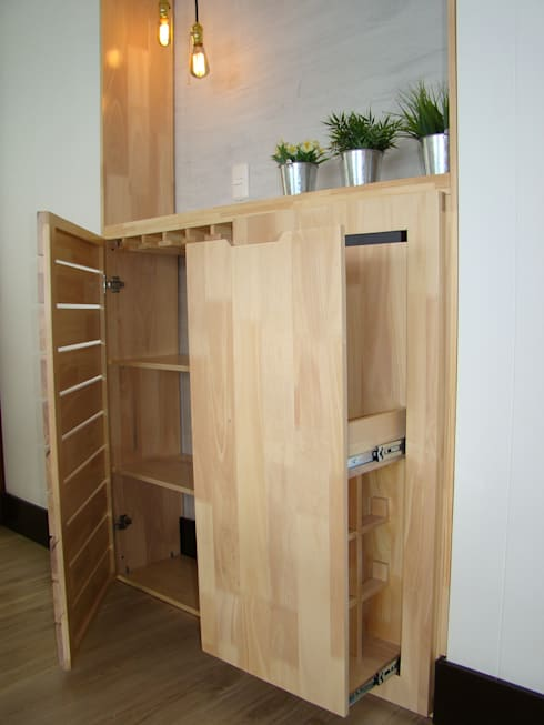 Mueble bar by alse taller de arquitectura y dise o homify for Muebles bar diseno