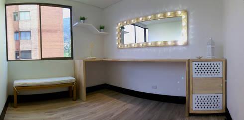 Estudio de maquillaje para Tuti Posada: Spa de estilo moderno por ALSE Taller de Arquitectura y Diseño
