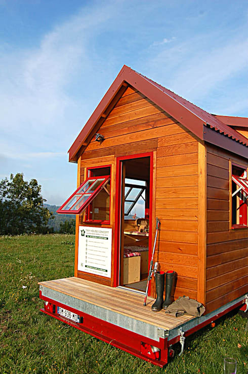 tiny house concept von tiny house concept berard frederic homify. Black Bedroom Furniture Sets. Home Design Ideas