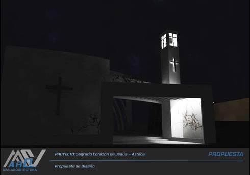 Sagrado corazon de Jesús:  de estilo  por MA5-Arquitectura