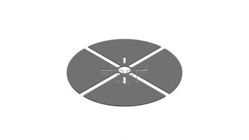 Regulador - Anilha que permite nivelar o piso: Paredes  por Amop