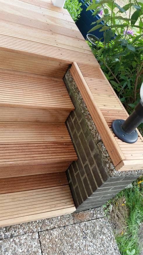 mandioqueira terrassendielen 25 x 145 mm por kahrs gmbh. Black Bedroom Furniture Sets. Home Design Ideas