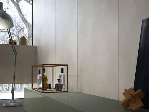 RESINE: styl , w kategorii Ściany i podłogi zaprojektowany przez Mirad Beta