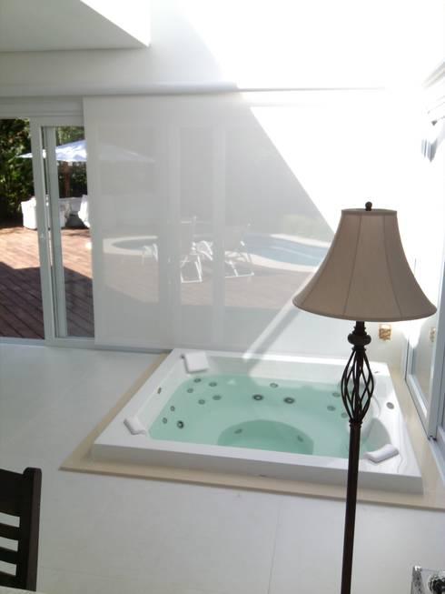 PROJETO SALÃO DE FESTAS - PORTO ALEGRE / RS: Spas modernos por daniel villela arquitetura