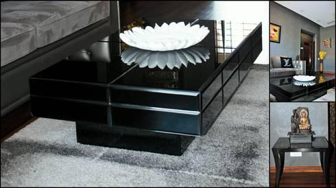residence: minimalistic Living room by MAPLE studio design