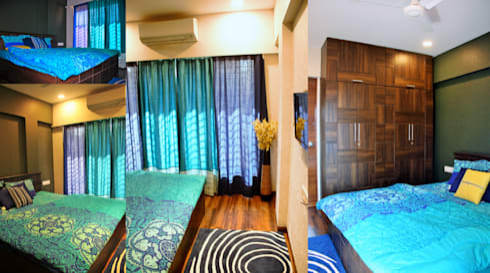 residence: minimalistic Bedroom by MAPLE studio design