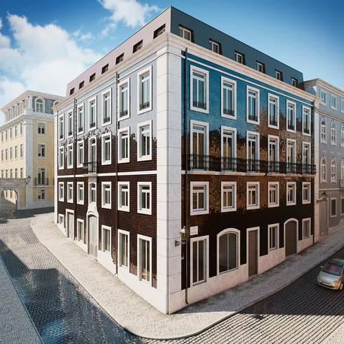 Apartamento en lisboa de berga gonzalez arquitectura y - Apartamentos en berga ...