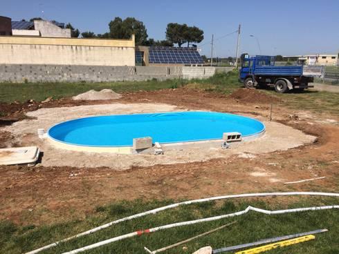 Installazione piscina gre madagascar von gruppo san marco - Piscina san marco ...