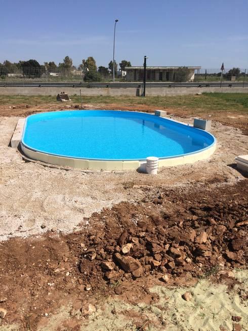 Installazione piscina gre madagascar di gruppo san marco - Piscina san marco ...