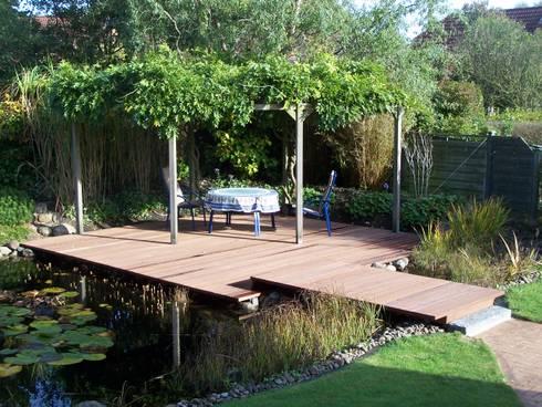 bongossi terrassendielen 40 x 140 mm grob von kahrs gmbh. Black Bedroom Furniture Sets. Home Design Ideas