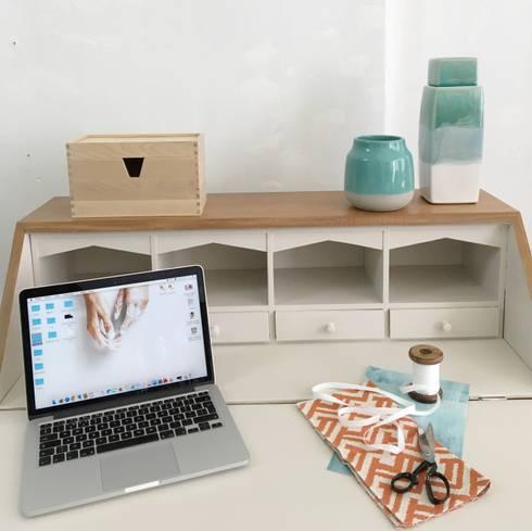 Restauro e Reciclagem de Mobiliário : Casa  por Rafaela Fraga Brás Design de Interiores & Homestyling