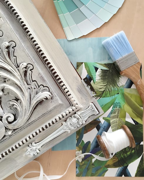 Porta de Móvel : Casa  por Rafaela Fraga Brás Design de Interiores & Homestyling