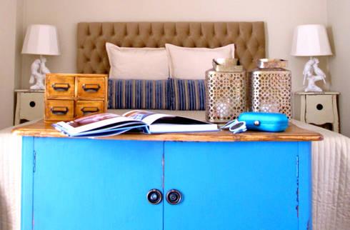 Quarto : Quartos campestres por Rafaela Fraga Brás Design de Interiores & Homestyling