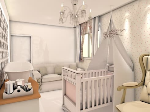 Nursery/kid's room by Deise Luna Arquitetura
