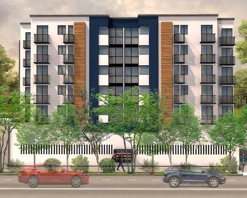 MASSENET #136: Casas de estilo moderno por A+DC