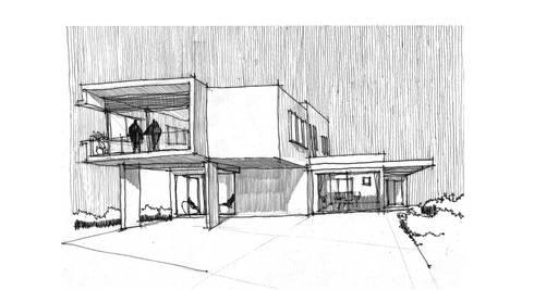 Casa Gama:  de estilo  por Vibra Arquitectura