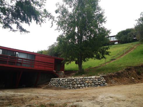 Casa Lago Ranco: Casas de estilo moderno por Vibra Arquitectura