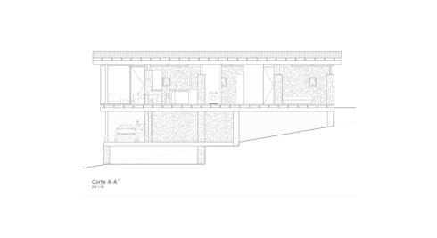 Casa Lago Ranco:  de estilo  por Vibra Arquitectura