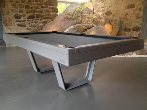 Billard table aero par billard br ton homify - Billard moderne ...