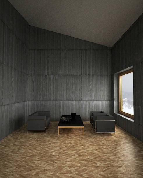 Walls by Belle Ville Atelier d'Architecture