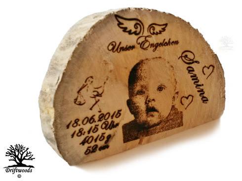 Personalisierte Geschenke   Fotogravur in Treibholz: mediterrane Arbeitszimmer von DRIFTWOODS