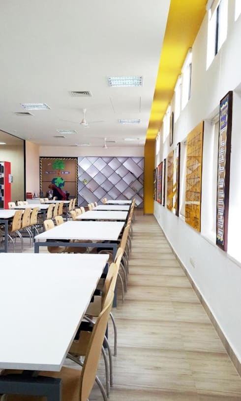 school library: modern Study/office by MYSPACE ARCHITECTS