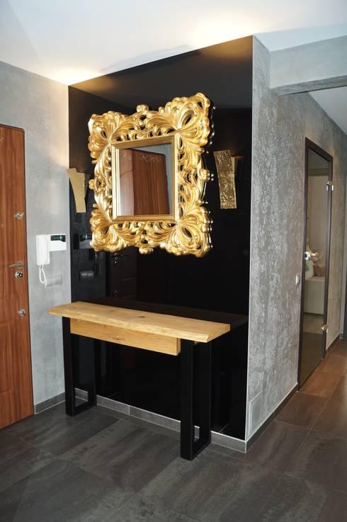 Remont apartamentu: styl , w kategorii Korytarz, przedpokój zaprojektowany przez Dekor Studio