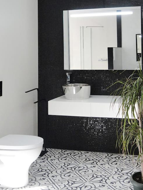 modern Bathroom by Kerion Ceramics