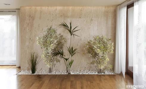 Projekt wnętrz domu w Lędzinach : styl , w kategorii Ogród zimowy zaprojektowany przez Mono architektura wnętrz Katowice