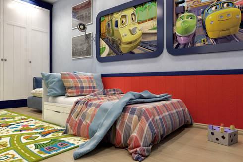Детская комната в стиле Чаггингтон: Детские комнаты в . Автор –  Pure Design