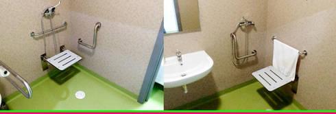 LAR NOSSA SENHORA DE FÁTIMA: Casas de banho modernas por FaustoDecor - Portugal