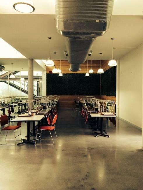 Interiores : Restaurantes de estilo  por Apx Taller de Arquitectura