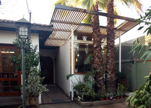 ampliación cocina: Casas de estilo moderno por PARQ Arquitectura