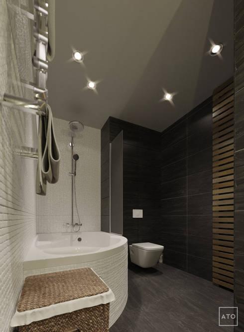 Квартира в балашихе: Ванные комнаты в . Автор – ATO Studio
