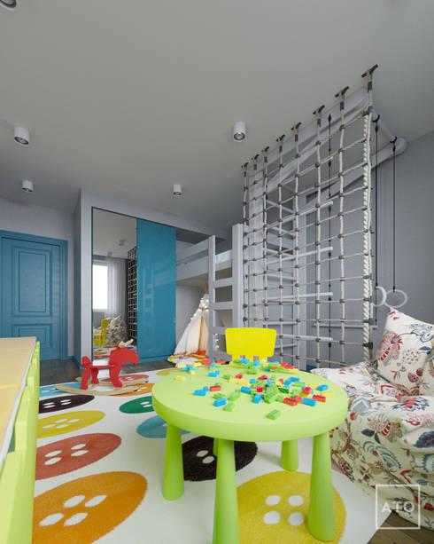 Квартира в балашихе: Детские комнаты в . Автор – ATO Studio
