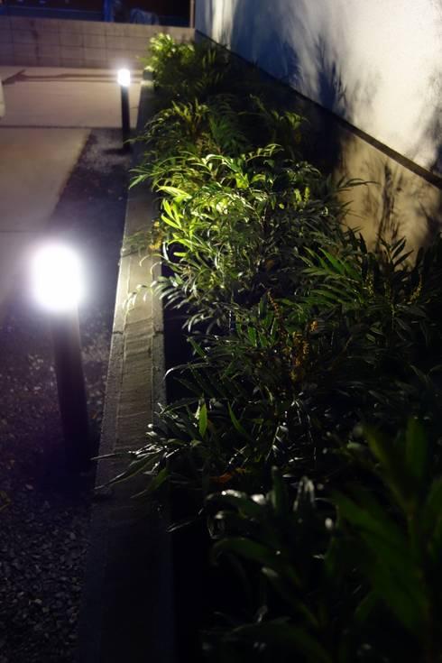 エクステリア&中庭アレンジ 埼玉県吉川市: NOD GARDENが手掛けた庭です。