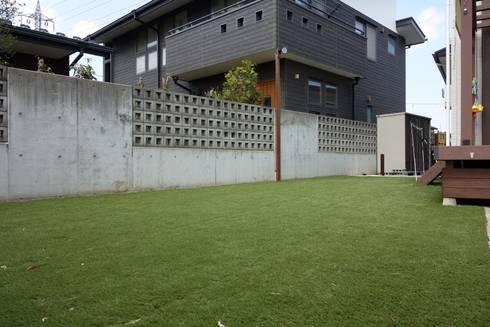 エクステリア&和庭リフォーム 埼玉県さいたま市: NOD GARDENが手掛けた庭です。