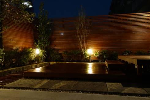 エクステリア&ガーデン「シンプル・モダン・ウッド」 埼玉県さいたま市: NOD GARDENが手掛けた庭です。
