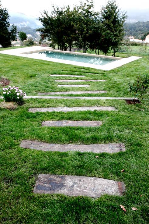 Jardins campestres por RUTH GUNDÍN VILLAR