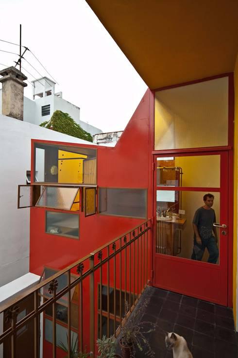 Casas industriais por Pop Arq