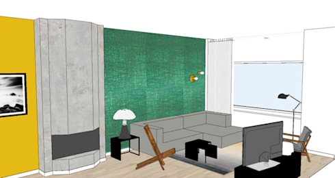 Studio Mind: Styling woonkamer 2onder1kap woning Heemstede ...