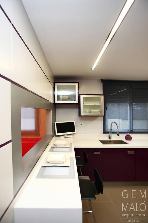 廚房 by Gemmalo arquitectura interior