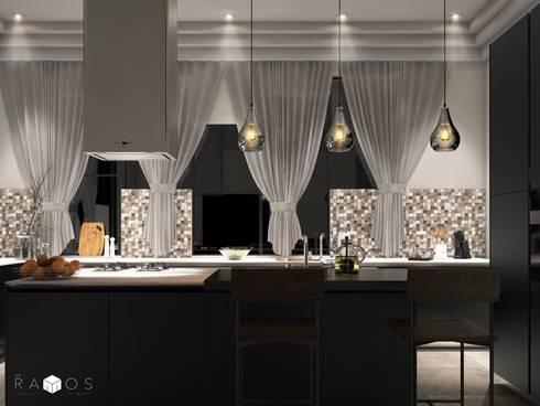 Cocina Contemporánea:  de estilo  por MRamos