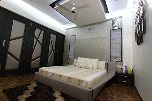 Bedroom: modern Bedroom by Mind Studio