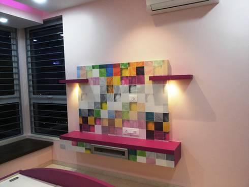 Oberoi Exquisite, Goregaon: modern Bedroom by J SQUARE - Architectural Studio