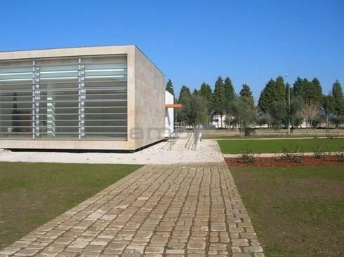 Biblioteca Municipal, Condeixa: Paredes  por Amop