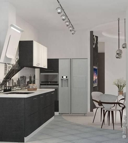 Keuken door Дизайн-бюро «Линия стиля»